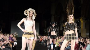 Brighton Fashion Week - Roadkill Couture Wows Crowd!