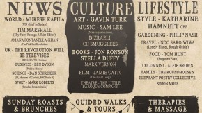 Sunday Papers Live flyer