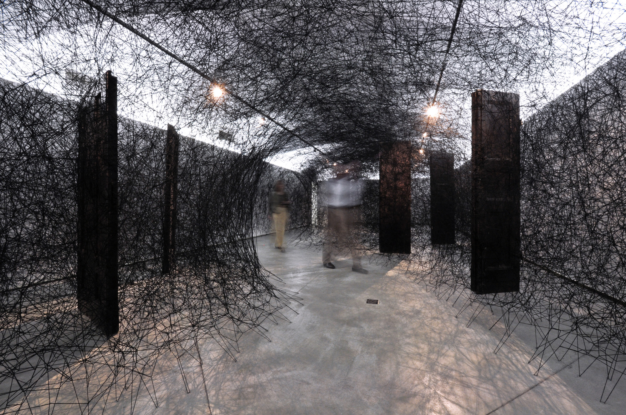 Art Chiharu Shiota S First Solo Uk Show Something You