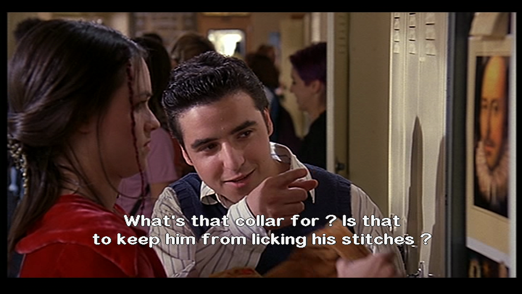 10 Things I Hate About You Fashion: » Collar Joke From 10 Things I Hate About You Something